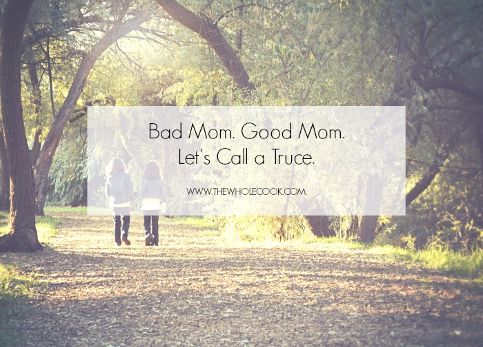 Bad Mom Good Mom Let's Call a Truce