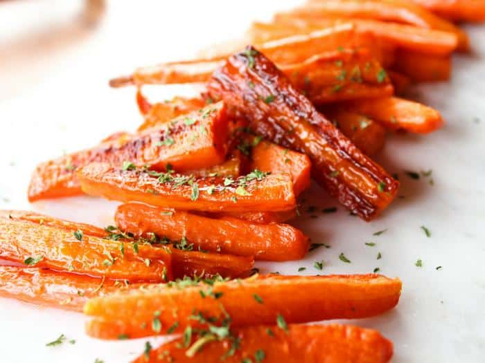 Roasted Parsley Carrots by The Whole Cook HORIZONTAL FEATURE(1)