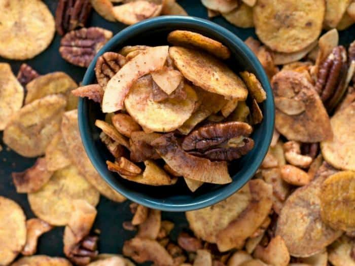 Grain Free Snack Party Mix by The Organic Dietician