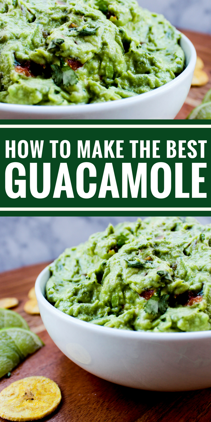 Need a healthy snack, appetizer, or topping for your burger? This family favorite guacamole recipe is it. You'll be surprised by how easy it is and you'll love the taste!