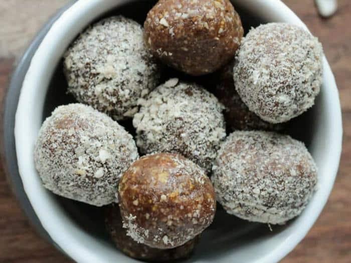 Sunflower Fig Balls by Veggie Inspired