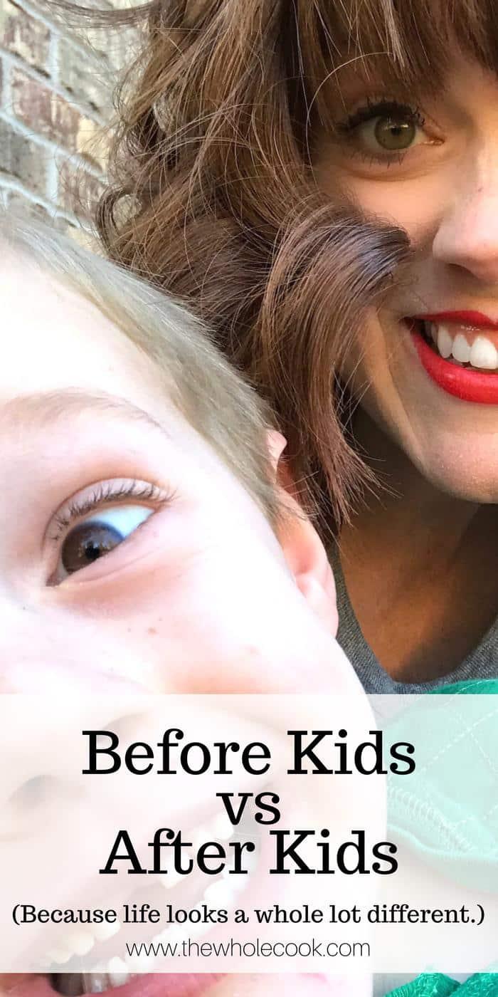 Before Kids vs After Kids PINTEREST