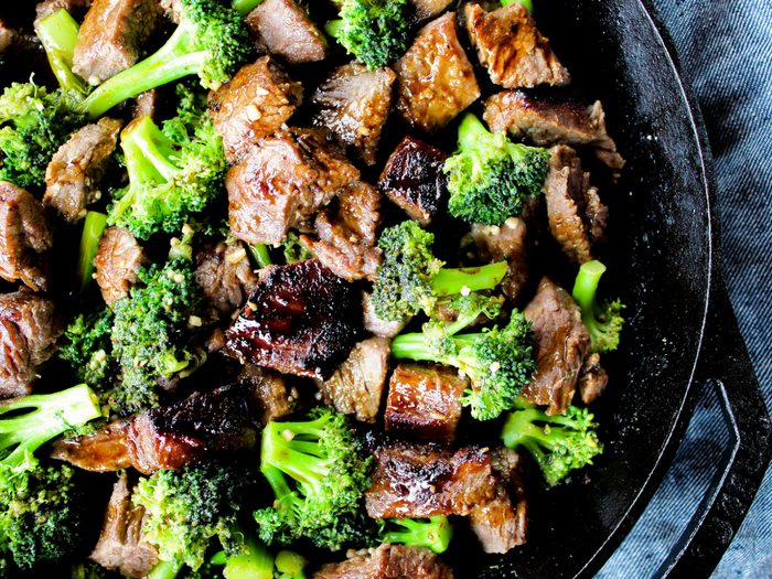 Beef & Broccoli by The Whole Cook horizontal