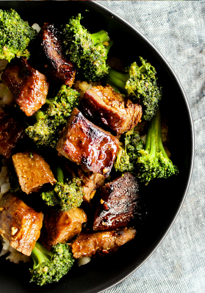Beef & Broccoli by The Whole Cook vertical