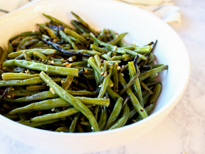 Garlic Green Beans by The Whole Cook horizontal