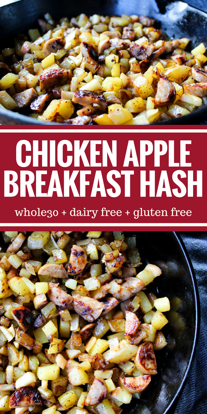 Chicken Apple Breakfast Hash by The Whole Cook(1)