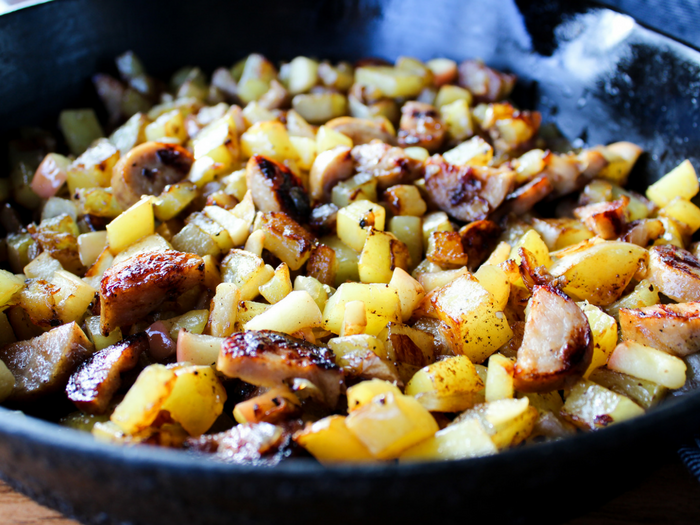 Chicken Apple Breakfast Hash by The Whole Cook(3)