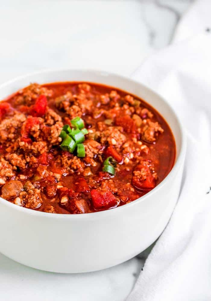 No Bean 30 Minute Chili - The Whole Cook