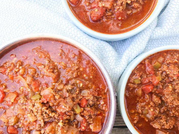 No Bean 30 Minute Chili by The Whole Cook HORIZONTAL FEATURE