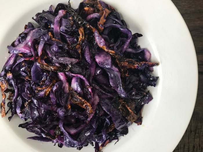 how to prepare and cook red cabbage
