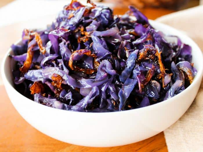 Roasted Red Cabbage by The Whole Cook(1)
