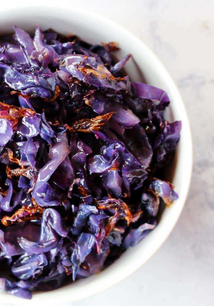 Roasted Red Cabbage by The Whole Cook(4)
