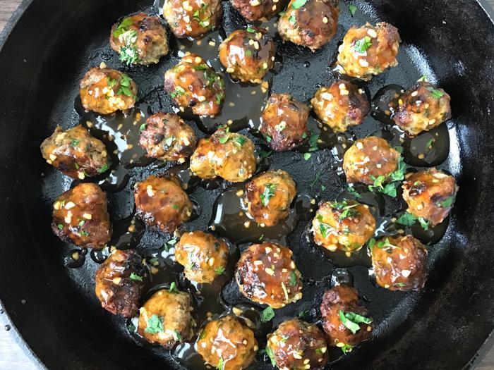 Pineapple Teriyaki Turkey Meatballs 9