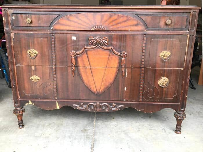 1930s Dresser BEFORE