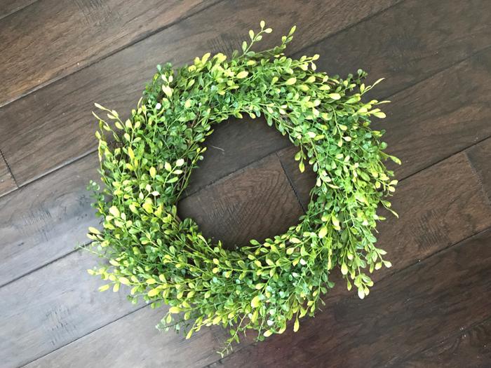 Faux Boxwood Wreath FINAL FINAL