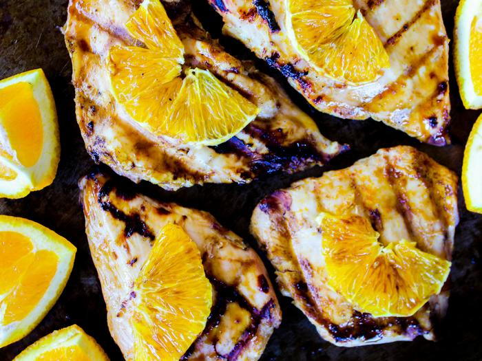 Grilled Orange Chicken by The Whole Cook horizontal(1)