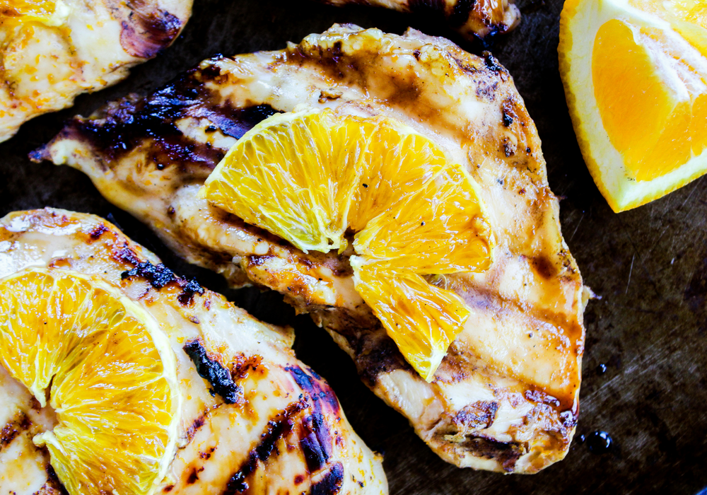 Grilled Orange Chicken by The Whole Cook horizontal2