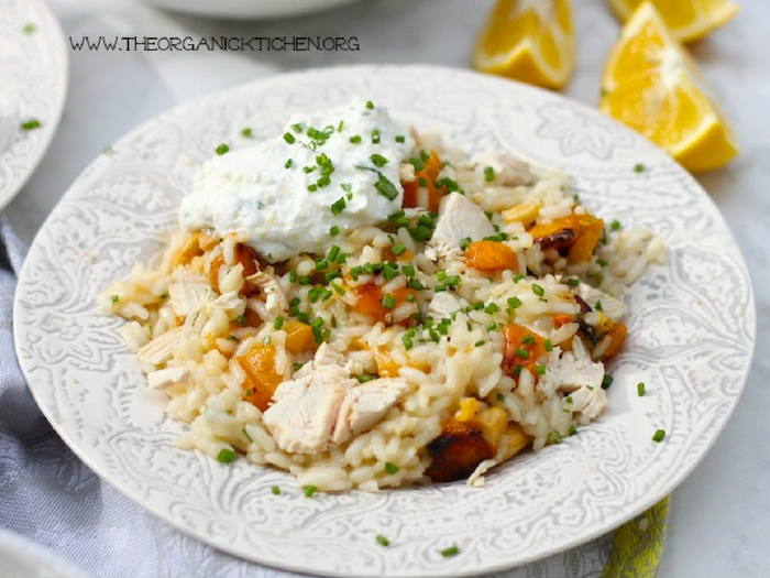 Lemon Risotto_ Chicken, Shrimp, or Vegetarian by The Organic Kitchen