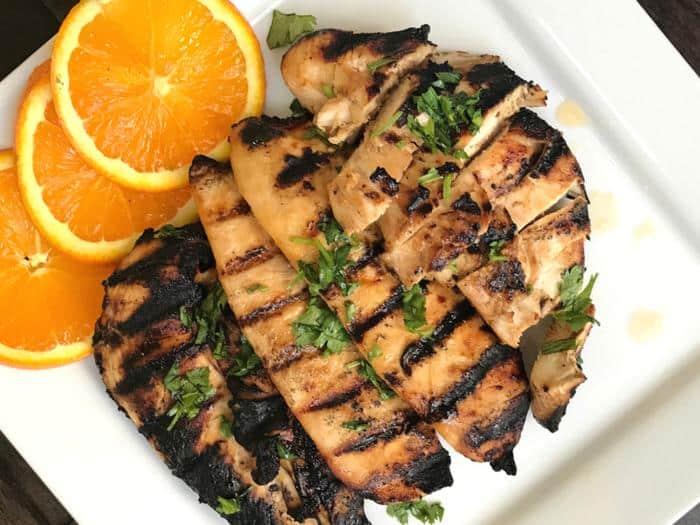 Orange Grilled Chicken FEATURE