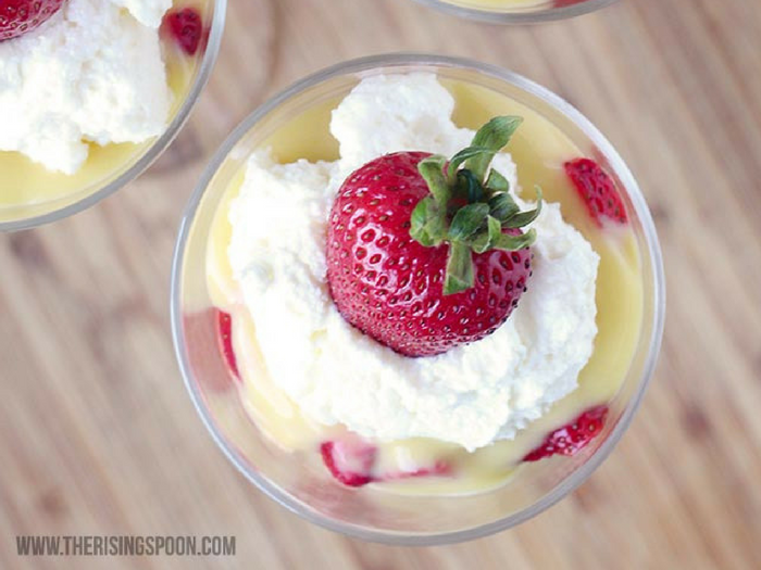 Strawberry Shortcake & Lemon Curd Parfait by The Rising Spoon