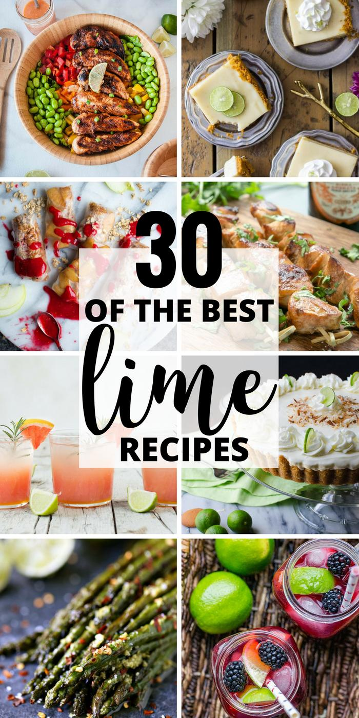 30 of the Best Lime Recipes