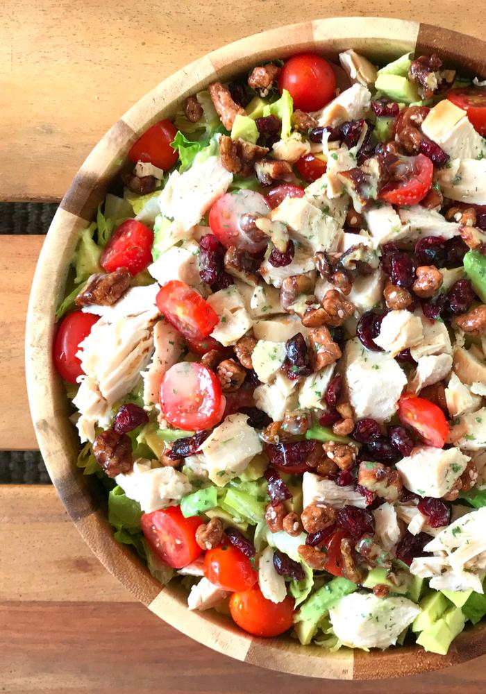 Avocado Cranberry Chicken Salad by The Whole Cook VERTICAL FEATURE 3