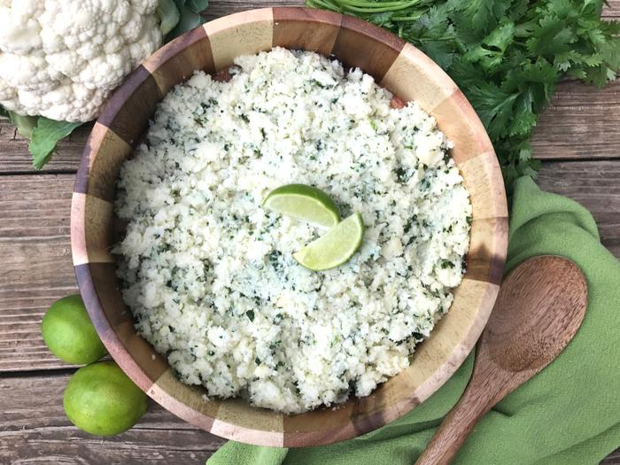 Cilantro Lime Cauliflower Rice by The Whole Cook HORIZONTAL FEATURE