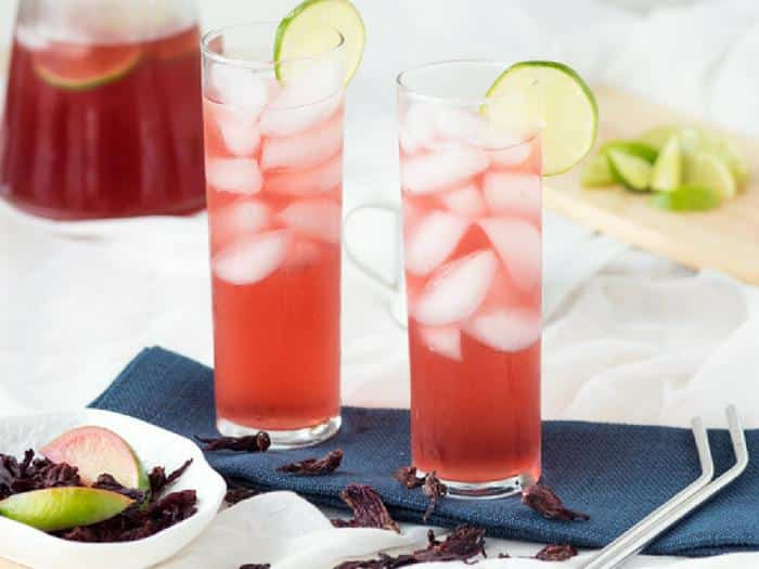 Hibiscus Lime Cooler by The Worktop