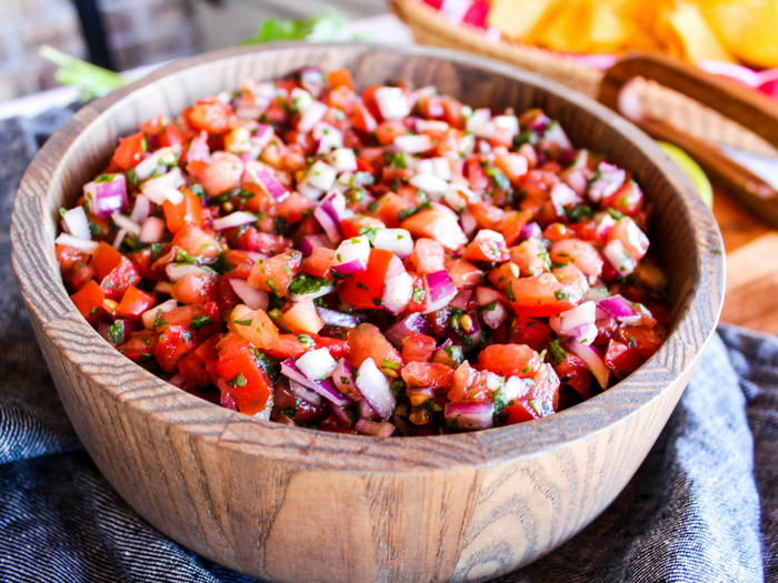 Homemade Pico de Gallo by The Whole Cook horizontal