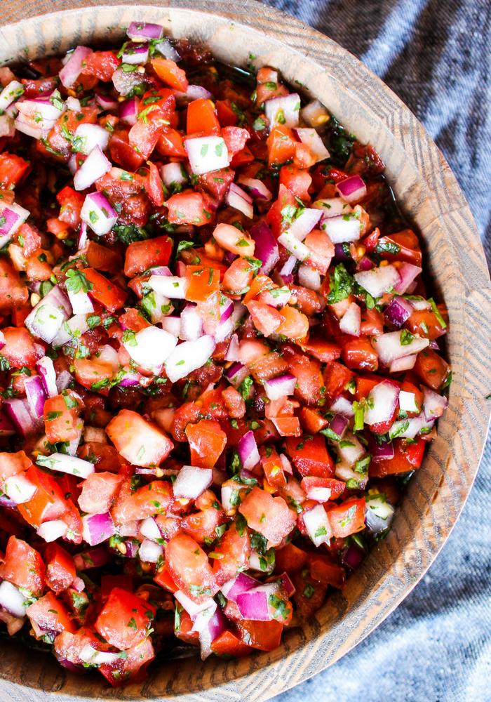 Homemade Pico de Gallo by The Whole Cook vertical