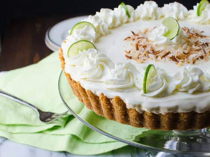 Key Lime Mousse Tart by Garlic & Zest