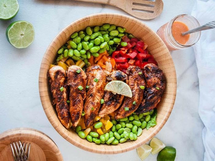 Siracha Lime Chicken Salad by Seasoned Sprinkles