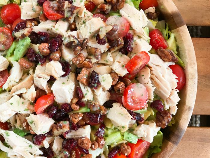 Avocado Cranberry Chicken Salad by The Whole Cook