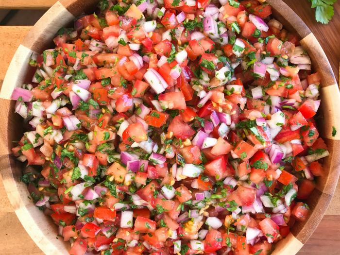 Pico de Gallo by The Whole Cook FEATURE UP CLOSE