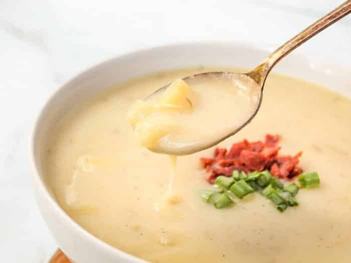 30 Minute Dairy Free Potato Soup The