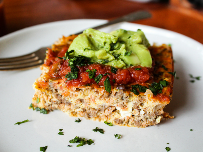 Dairy Free Taco Breakfast Casserole by The Whole Cook horizontal(2)