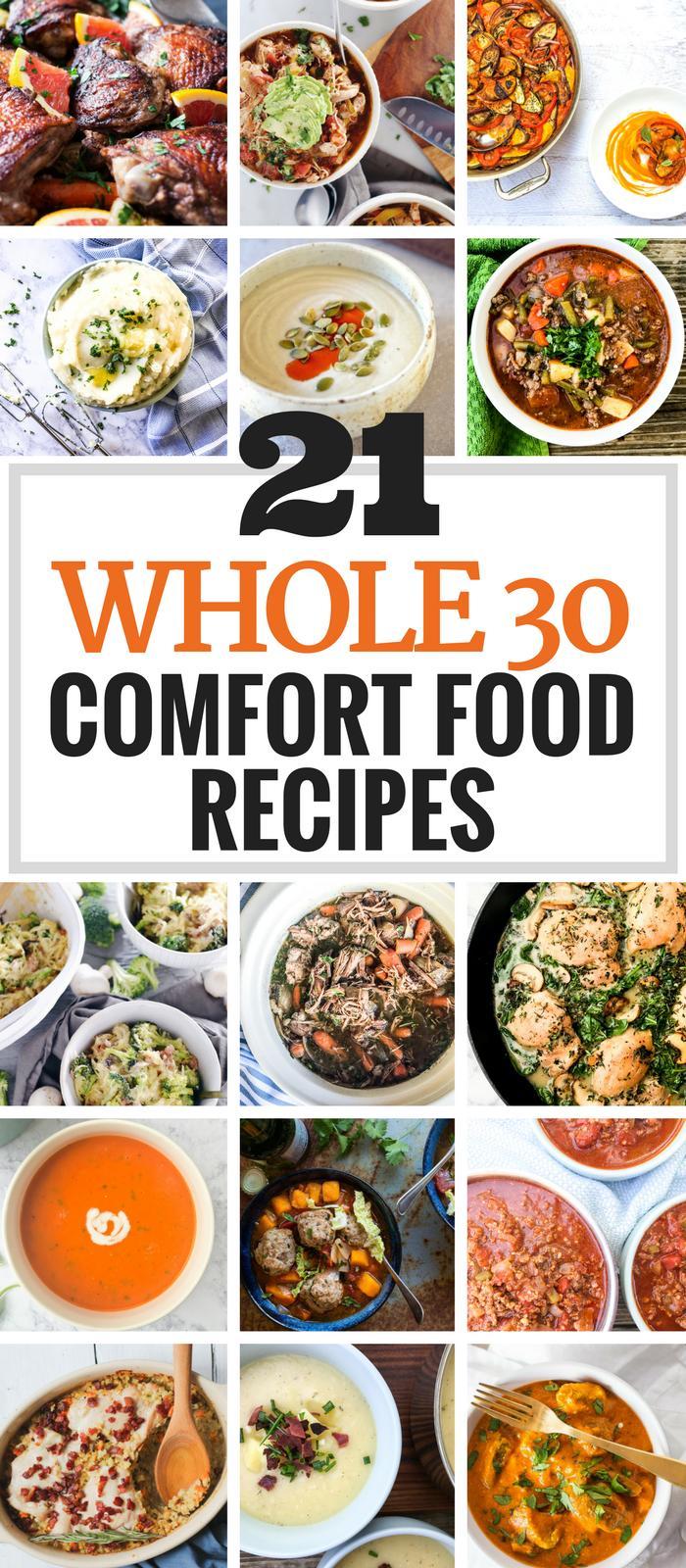 21 Whole30 Comfort Food Recipes via The Whole Cook