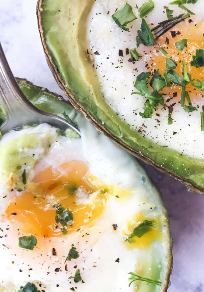Baked Egg Avocado Boats The Whole Cook VERTICAL FEATURE
