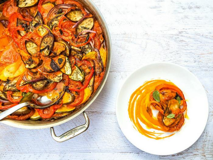 Classic French Ratatouille by Bacon is Magic