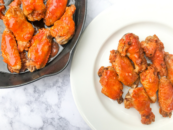 Oven Baked Buffalo Wings by The Whole Cook HORIZONTAL FEATURE(1)