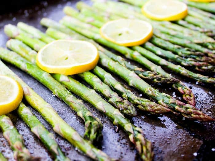 Roasted Lemon Asparagus by The Whole Cook horizontal