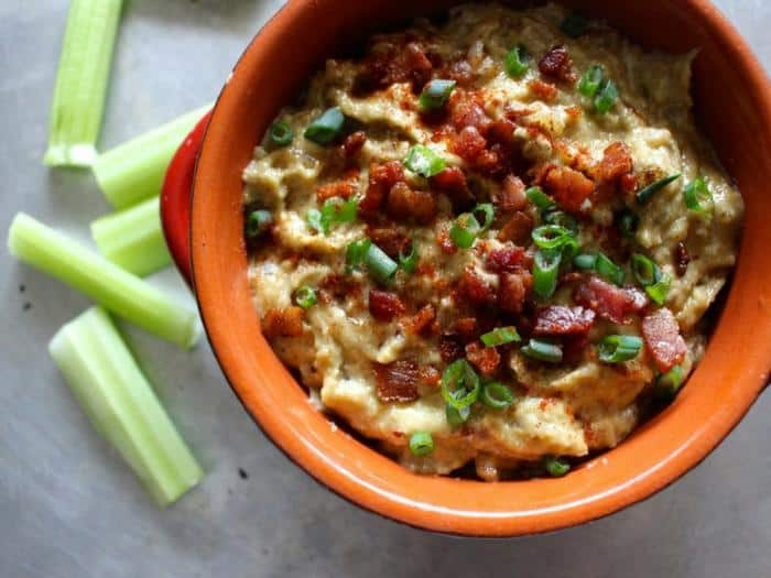 Caramelized Onion Bacon Dip by What Great Grandma Ate