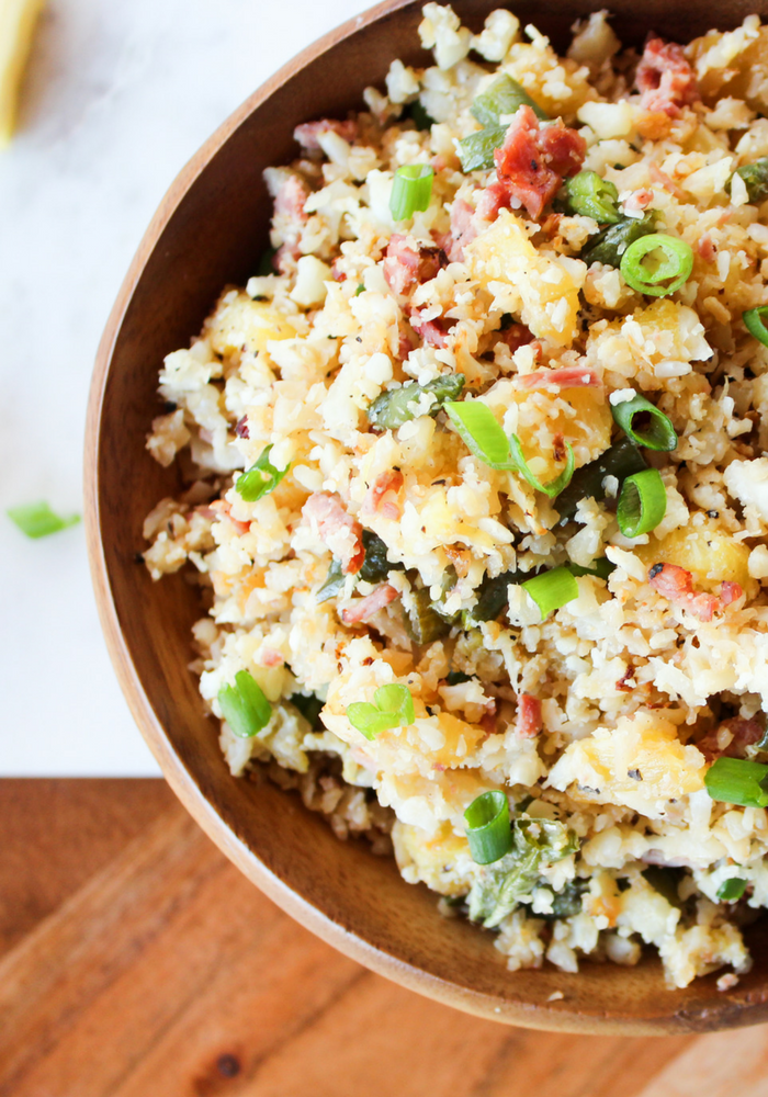 Pineapple Cauliflower Rice by The Whole Cook(3)