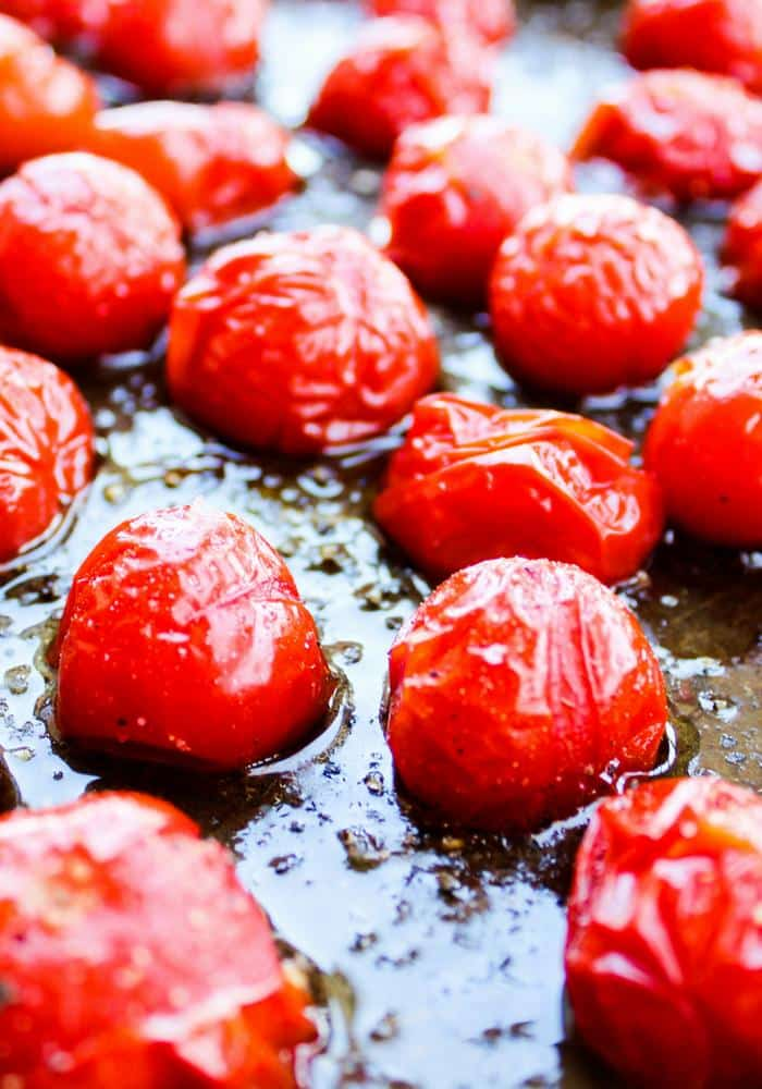 Roasted Cherry Tomatoes by The Whole Cook vertical