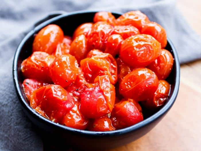 Roasted Cherry Tomatoes by The Whole Cook(1)