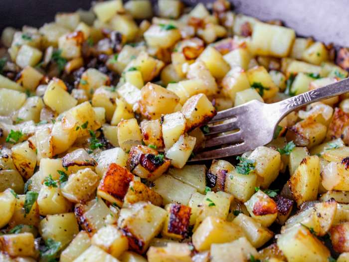 Skillet Breakfast Potatoes The Whole Cook