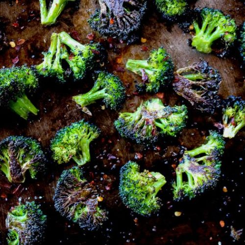 Spicy Roasted Broccoli The Whole Cook
