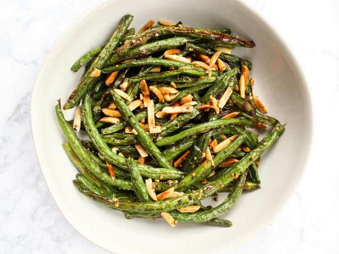 Green Beans with Toasted Almonds by The Whole Cook horizontal(1)