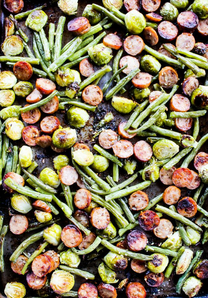 Sheet Pan Sausage & Veggies by The Whole Cook vertical(1)
