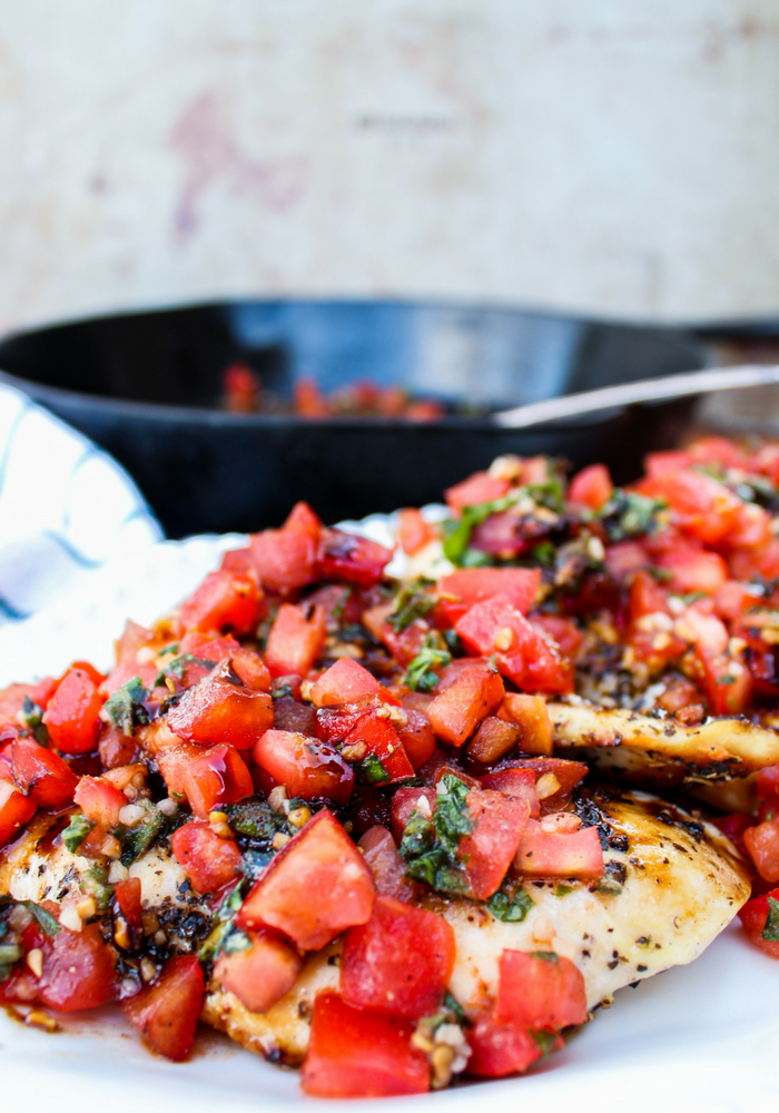Healthy Bruschetta Chicken by The Whole Cook vertical